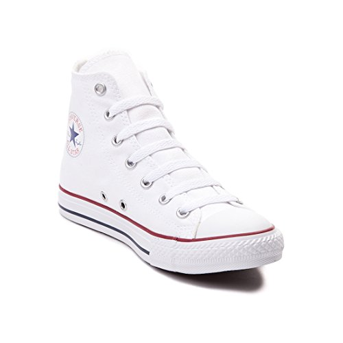 Converse Chuck Taylor All Star High Top Core Colors (5 D(M), Optical White)