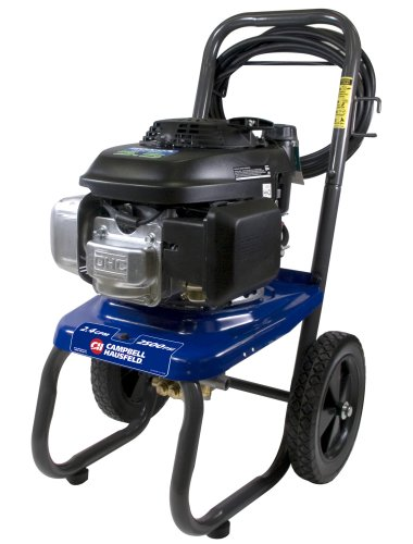 Campbell Hausfeld PW2575 2,700 psi 2.4 gpm Honda GCV160 Gas-Powered Pressure Washer with 25-Foot Hose