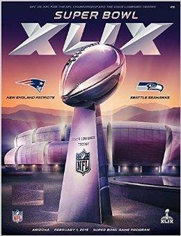 NFL Super Bowl 49 XLIX Program