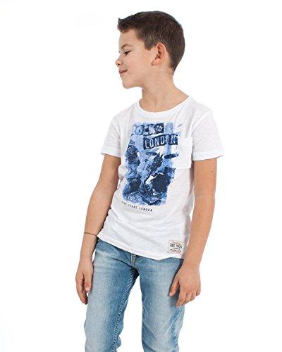 Pepe Jeans Jungen T-Shirt DEVON Fb. Weiss (Gr. 176 (16 J.))