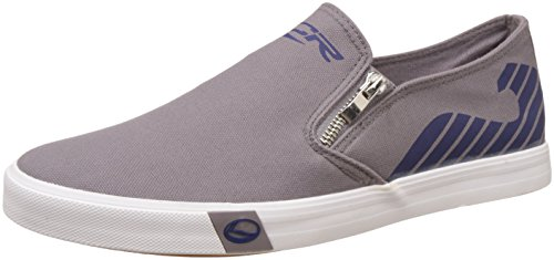 Lancer Men's Dark Grey and Navy Sneakers - 7 UK/India (41 EU)(YSM-WL-908)  available at amazon for Rs.699