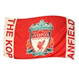 OFFICIAL LIVERPOOL FC THE KOP LARGE CRESTED 5 FEET X 3 FEET BODY FLAG