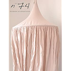 Numero74 ヌメロ74 Canopy Simple Saloo キャノピー ライトピンク