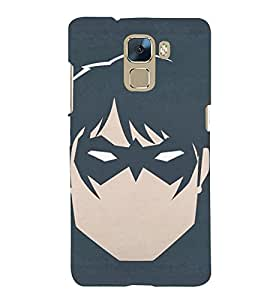 TOUCHNER (TN) Krrish Back Case Cover for Huawei Honor 7