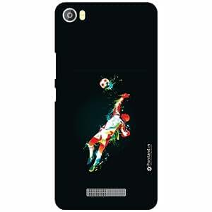 Lava Iris X8 Back Cover - Silicon Kick Designer Cases