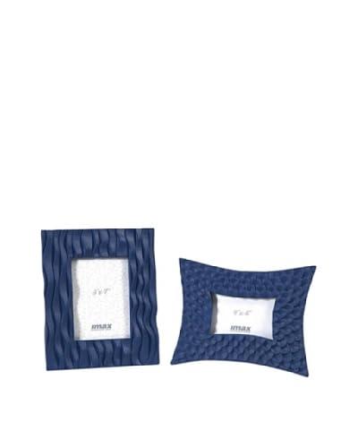 Set of 2 Essentials Frames, Blue Marine