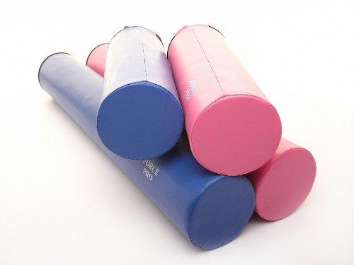 Foam Roller EVA - Blue/Pink & 15cm X 45cm/90cm