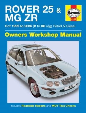 Rover 25 & MG ZR Owners Workshop Manual