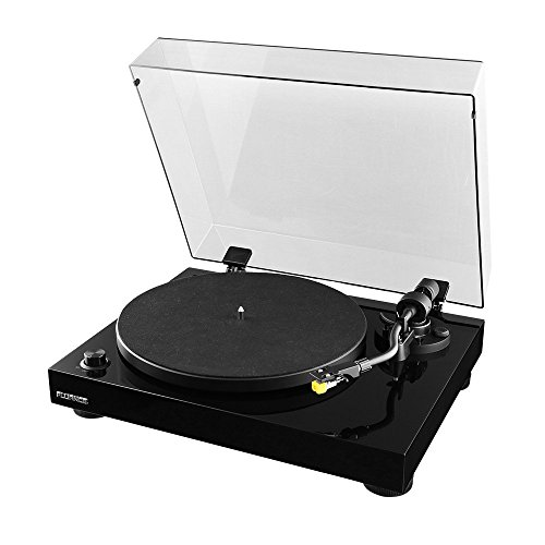Fluance-High-Fidelity-Vinyl-Turntable-Record-Player-with-Premium-Cartridge-Diamond-Stylus-Belt-Drive-Built-in-Preamp-Adjustable-Counterweight-Anti-Skating-Glossy-Black-Wood-Cabinet-RT80