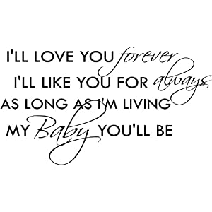 i love you baby forever quotes I Love You Baby Forever