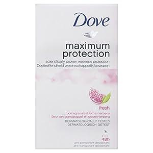 Dove Maximum Protection Go Fresh Pomegranate and Lemon Verbena Scent Antiperspirant Deodorant Cream - 45 ml