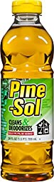 Clorox 97326 Pine Sol Multi Purpose Cleaner Amber Colored Bottle 24 Oz