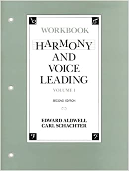 harmony and voice leading 4th edition pdf