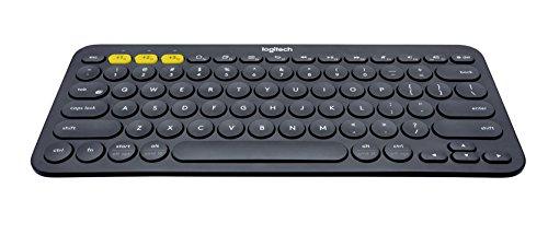Logitech K380 Tastiera Bluetooth per Windows/Mac/Chrome/Android, Layout Italiano, Grigio Scuro