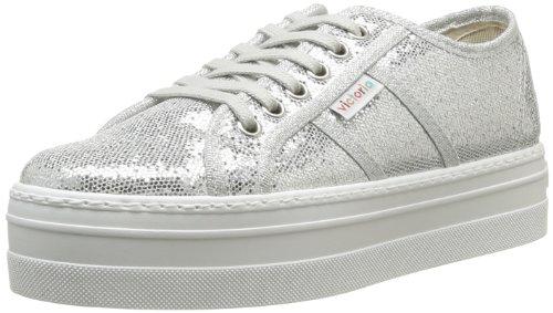 Victoria - Sneaker, Donna, Argento (Silber - Argent (Plata)), 37