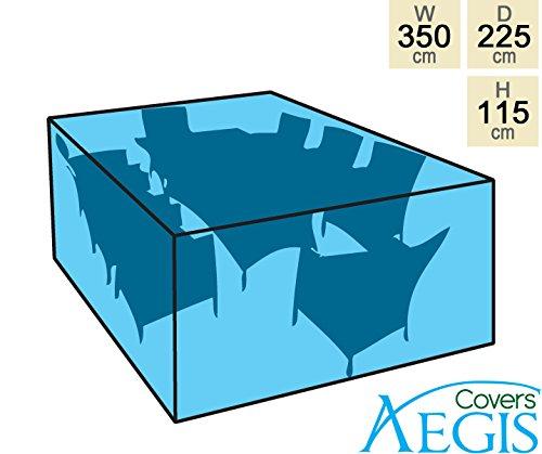 Aegis Abdeckung für rechteckigen Tisch und 8 Stühle – Standard online kaufen