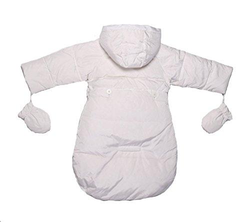 b3f2dd887084 Oceankids Baby Girls Newborn Pram Down Bunting Snowsuit Detachable ...