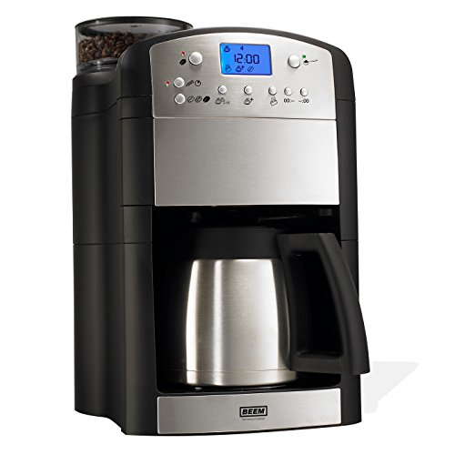 BEEM Germany Fresh Aroma Perfect Deluxe Coffee Machine, 1.7 Litre, 1000 Watt