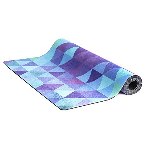Eco Natural Yoga Mat Towel Combo: Beautiful Eco Mat/Yoga Towel Combo