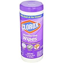 Clorox CLO 01654 Lavender Disinfecting Wipe 35-Pack (Case of 12)