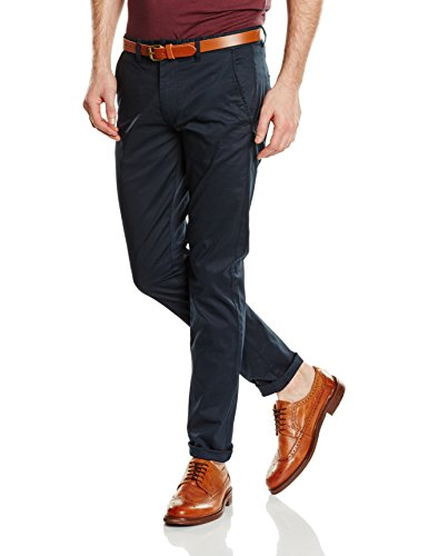 SELECTED HOMME - SHHYARD SLIM ST PANTS NOOS, Pantaloni uomo, Dark Sapphire, W33/L34 (Taglia produttore: 33)