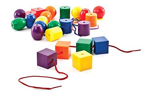 Carson-Dellosa Thinking Kids' Math Jumbo Lacing Beads - 1