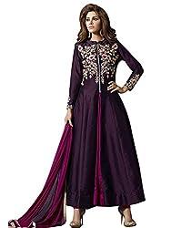 New Beautiful Purple Color Anarkali Suit by Kmozi