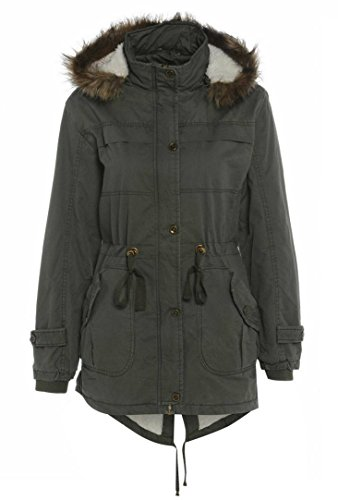 BETTY KAY LONDON -  Cappotto  - Parka - Donna cachi 42