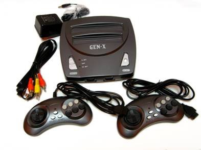Gen X 2 In 1 Genesis / Nes System By Retro-Bit back-268174
