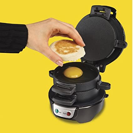 Hamilton-Beach-25477-Breakfast-Sandwich-Maker