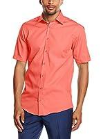 Venti Camisa Hombre (Rojo Claro)