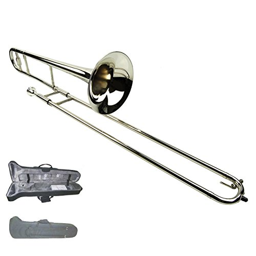 Trombone with Zippered Carrying Case