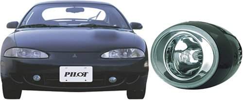 Pilot Performance Lighting   PL-121B Pilot 95 - 96 Mitsubishi Eclipse Custom Driving Light Kit, Blue
