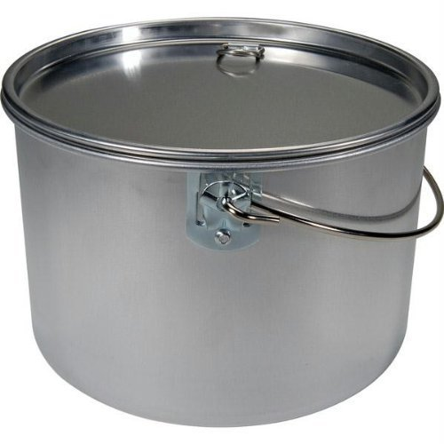 Open Country 4 Quart Aluminum Covered Kettle