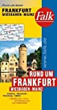 img - for Falk Rund um Frankfurt / Wiesbaden / Mainz 1 : 200 000 book / textbook / text book