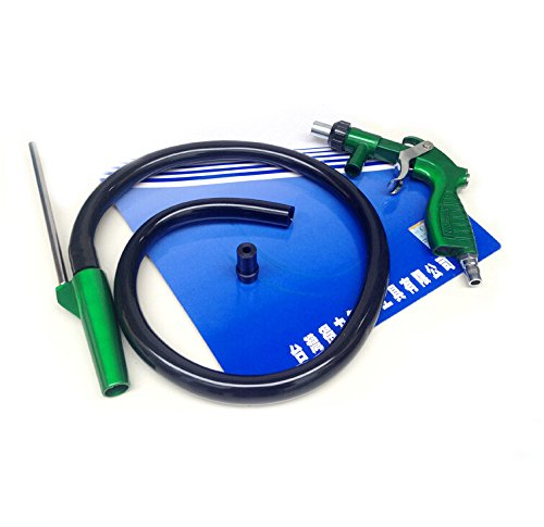 PS-2 Heavy Duty Sandblaster Sand Blasting Gun Kit with 4 Ceramic Nozzle Tips 5mm and 6 mm (Gun Ps2 compare prices)