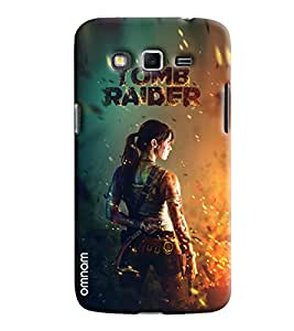 Omnam Hollywood Celebrity Tom Raider Printed Designer Back Cover Case For Samsung Galaxy Grand 2