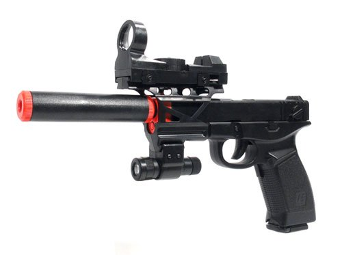 Electric P99 Style Pistol Full Auto Blowback 230 FPS Airsoft Gun