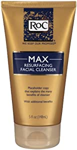 RoC Max Resurfacing Facial Cleanser, 5 Ounce
