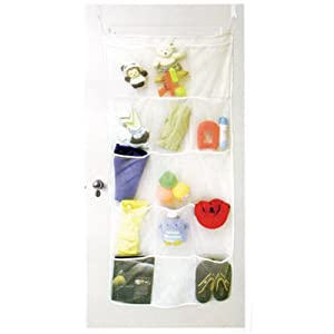 15 Pocket over the door room / closet organizer