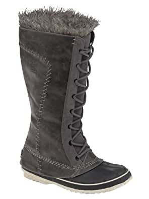 Sorel Women's Cate the Great Boot PEWTERELEPHANTSKIN 11