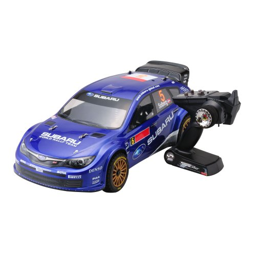 Kyosho 30879RS - Modellino elettrico DRX VE Subaru WRC 2008, 4WD - KT200 2,4 Ghz, fornito in readyset