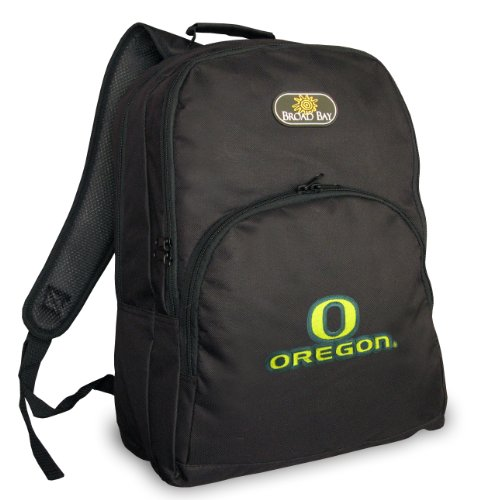 University Of Oregon Backpack Uo Ducks Ncaa Logo Travel School Bags