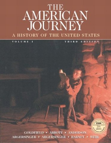 textbook analysis the american journey Summary and reviews of the oregon trail by rinker buck, plus links to a book excerpt from the oregon trail and author the oregon trail a new american journey.