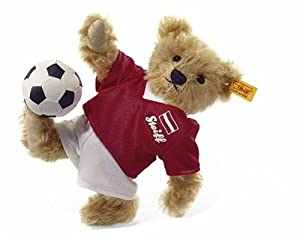 Steiff 002690 - Teddybär Fussballspieler Österreich