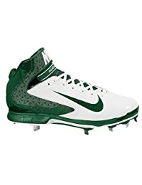 pictures of NIKE AIR HUARACHE PRO MID METAL MEN'S BASEBALL CLEATS 8.5 US