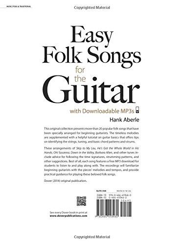 Easy Folk Songs for the Guitar