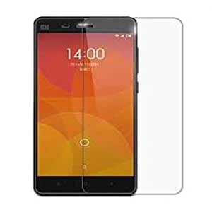 SNOOGG Pack 2 Xiaomi Mi 4Full Body Tempered Glass Screen Protector [ Full Body Edge to Edge ] [ Anti Scratch ] [ 2.5D Round Edge] [HD View] - White