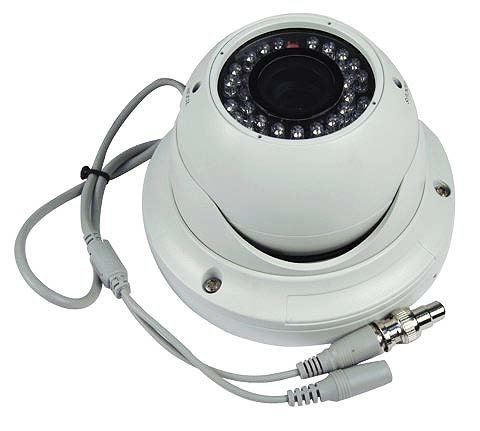 Vandal-Resistant Day-Night Infrared Dome Hi-Res Camera