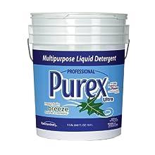 Dial 1468876 Professional Purex Mountain Breeze Multipurpose Liquid Detergent, 5 Gallon Pail, 410 Load